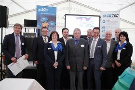 Firma CG Tec feiert 20-jähriges Firmenjubiläum und eröffnet